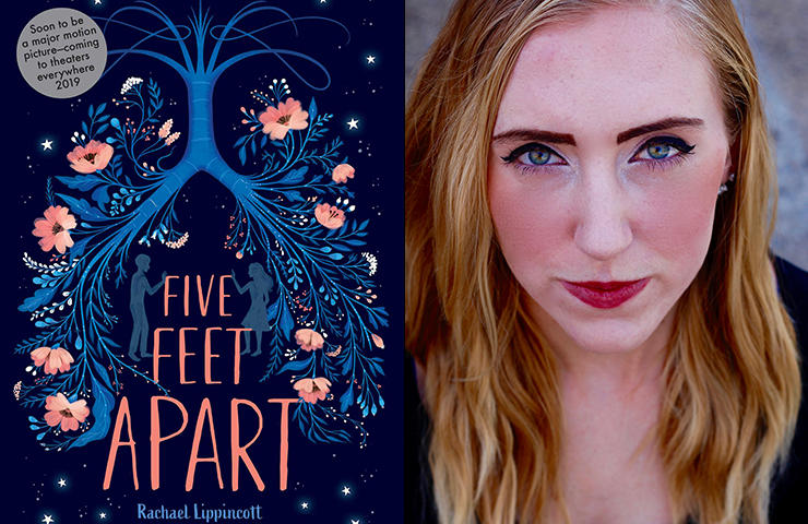 Five Feet Apart Picture: Rachael Lippincott '13 Publishes Five Feet Apart
